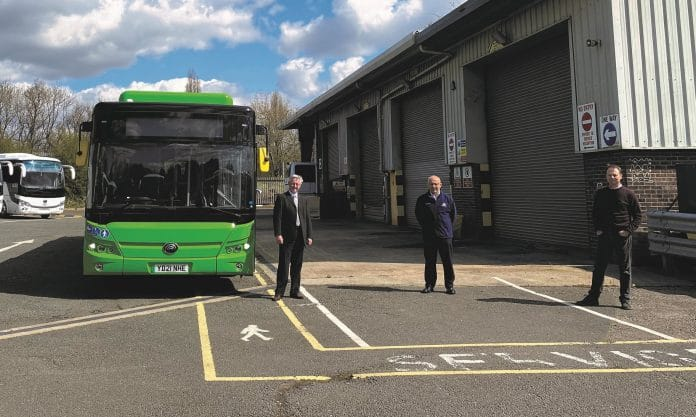 Pelican Bus and Coach in knock-down agreement with Yutong