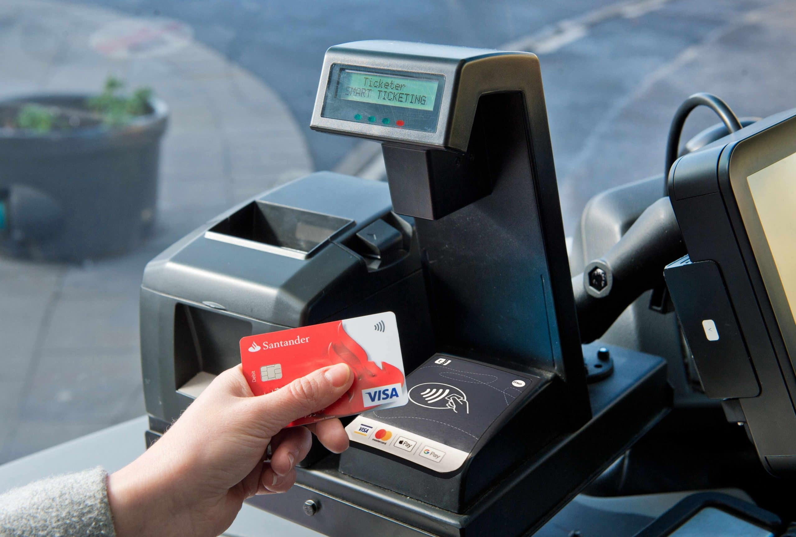 Ticketer Contactless