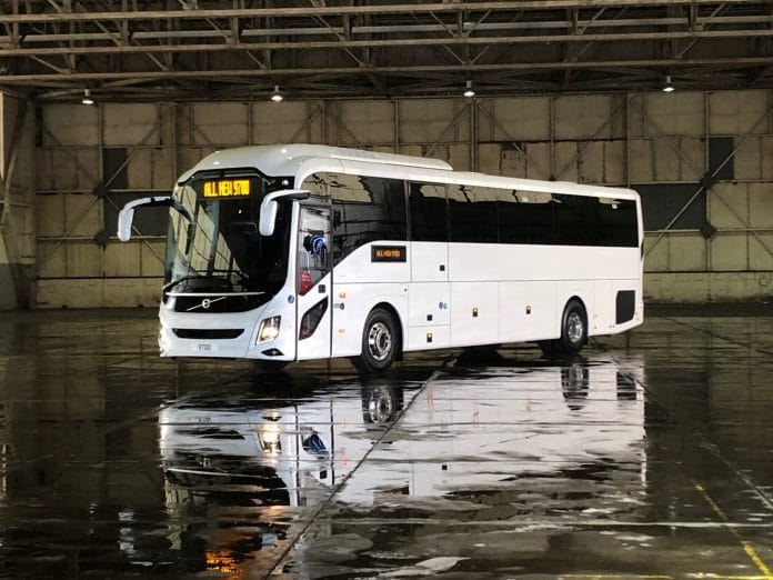 Volvo 9700 for the UK and Ireland