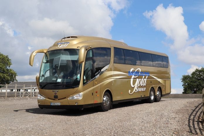 Bakers Dolphin Gold tour coach