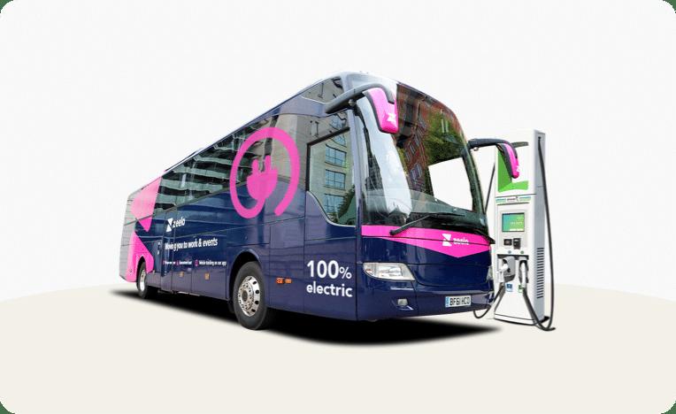 Photo of Zeelo electric bus