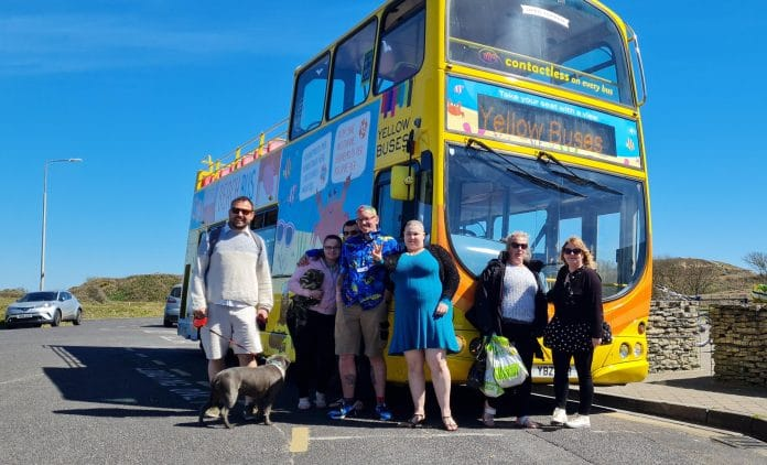 Grand day out in Bournemouth for care home residents