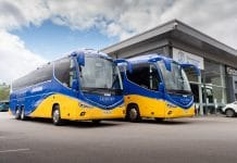 Johnsons Coach and Bus Travel Luxury Traveller Irizar i8 integrals