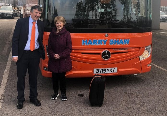 First vaccine recipient Margaret Keenan about to embark on a coach holiday