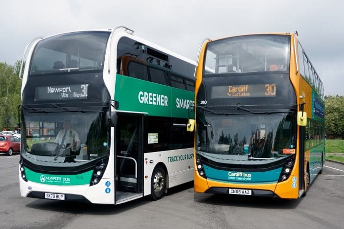 Newport Bus and Cardiff Bus