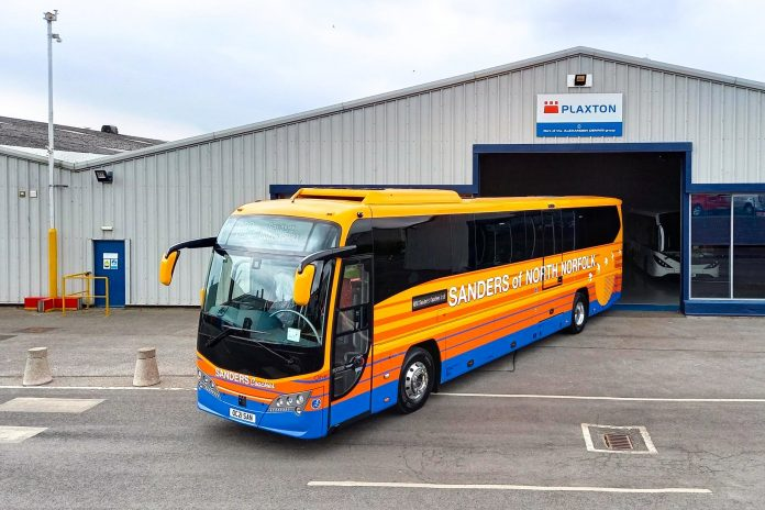 Plaxton Panther for Sanders Coaches
