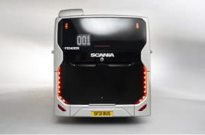 Scania Fencer rear view