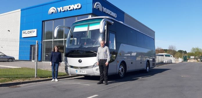 Llew Jones Coaches Yutong TC9 collection