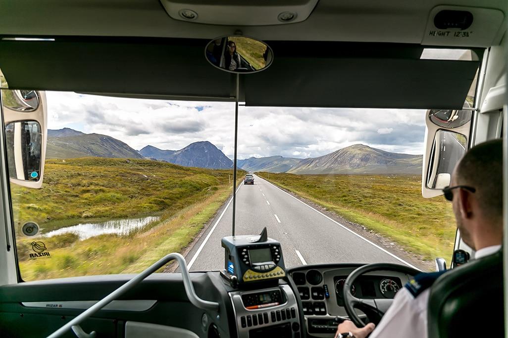 Driver in Scotland
