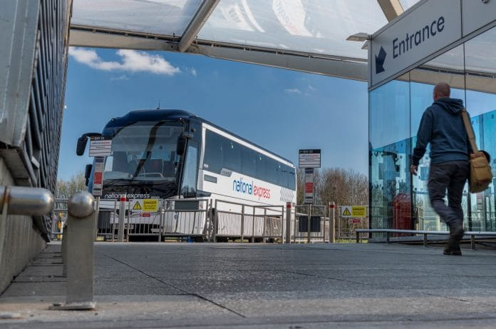 National Express coach capacity uplift in England