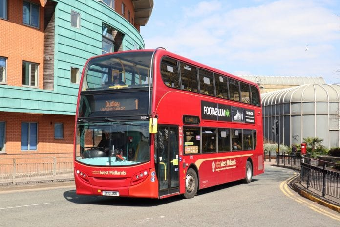 National Express West Midlands working with CitySwift