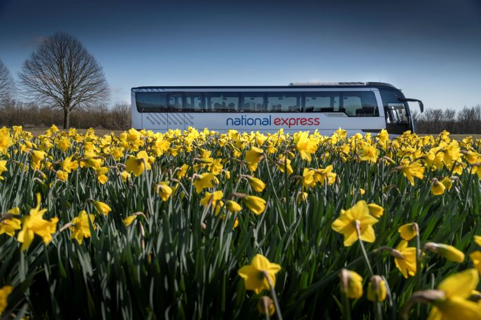 National Express carbon offset scheme launched