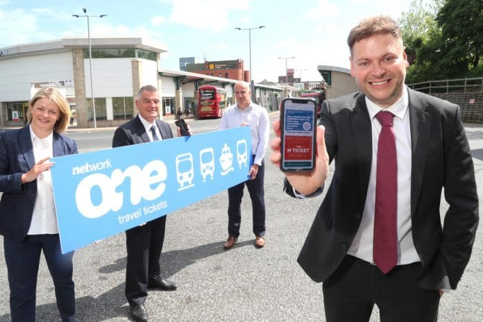 Network One North East multimodal ticketing