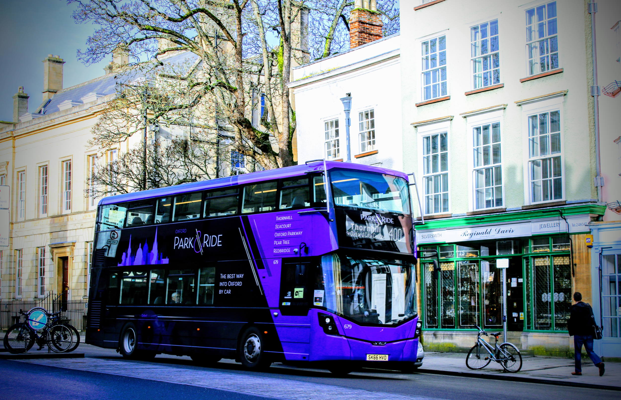 Oxford Bus Company supported by Omnibus scheduling