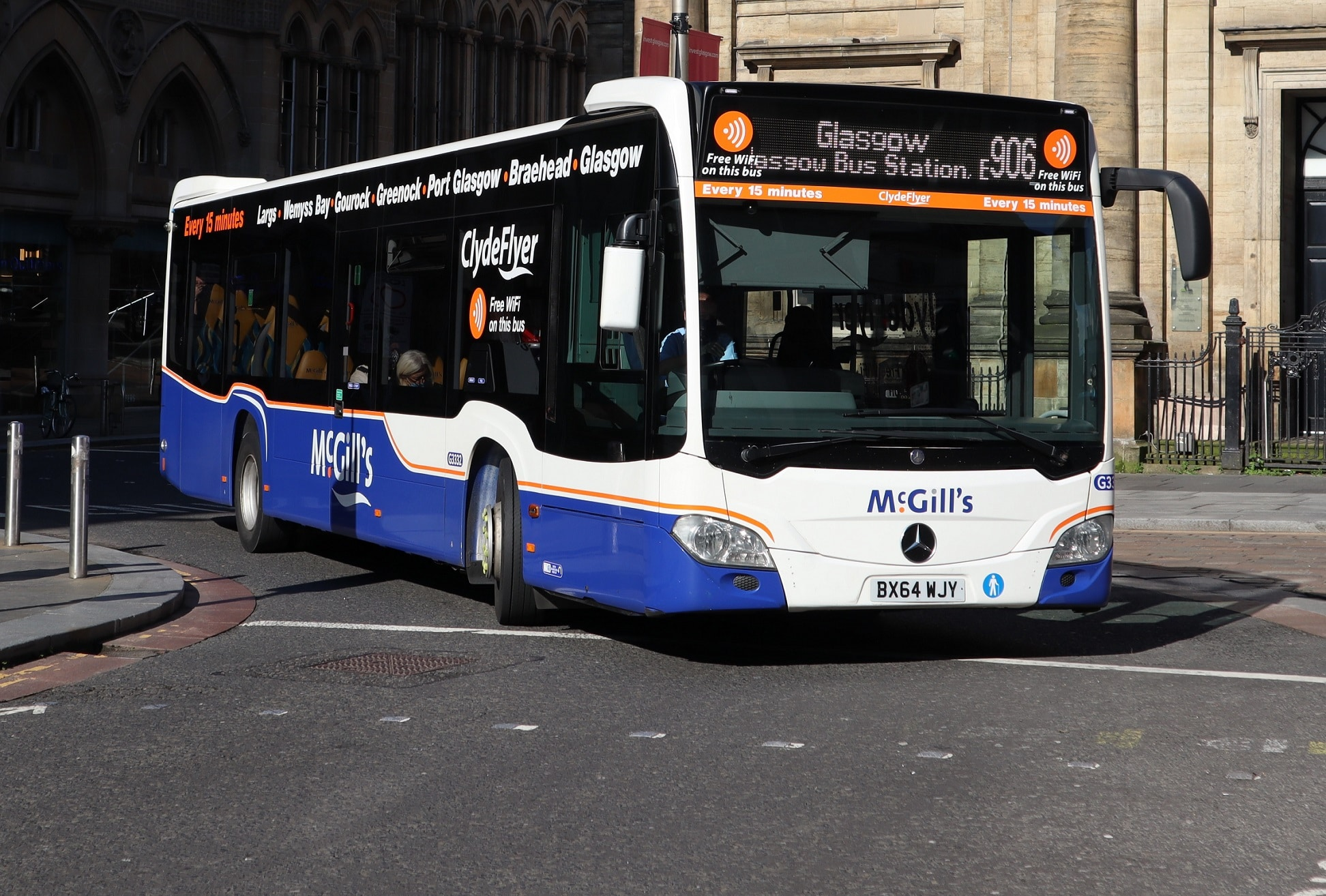 First award from Bus Partnership Fund in Scotland