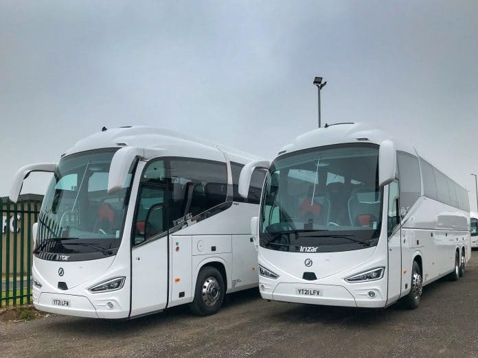 Two Irizar i6S integrals with The Travellers Choice