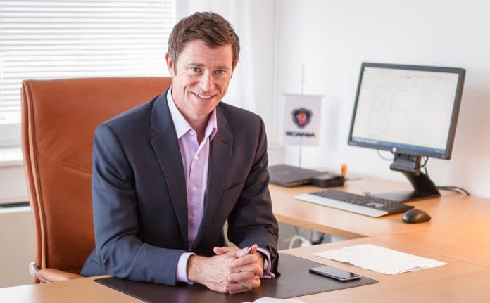 James Armstrong, Scania (Great Britain) Managing Director