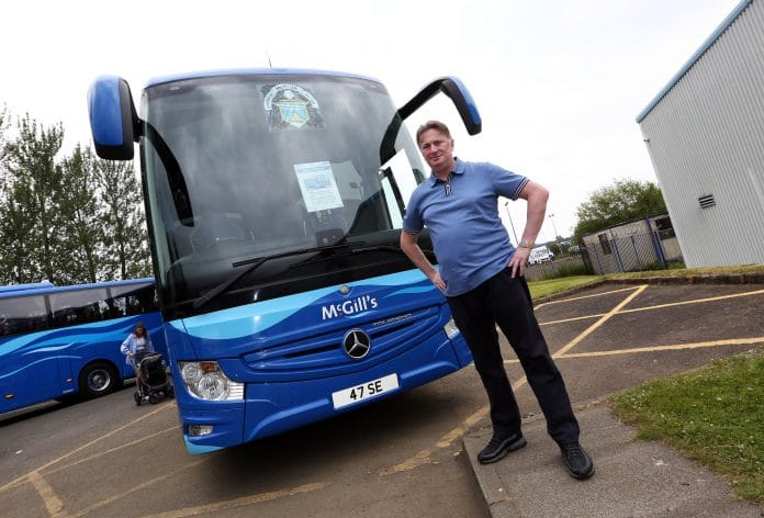 McGills Buses celebrates 20 years of serving Inverclyde