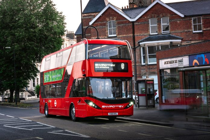 BYD ADL Enviro400EV trialled by Reading Buses