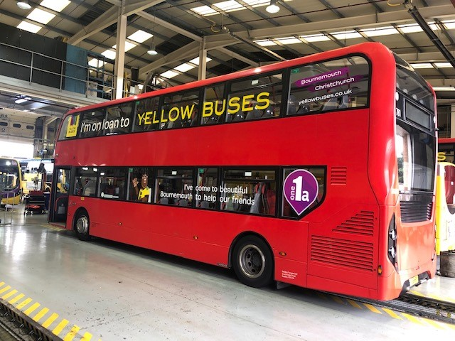 Reading Buses lends vehicles to Yellow Buses