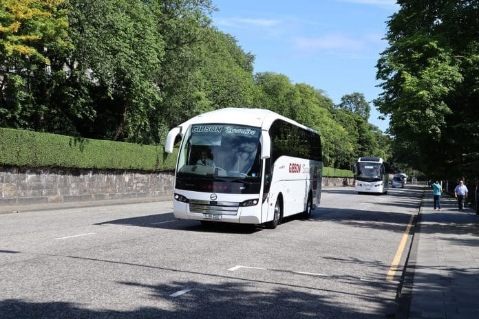 Scottish coach operators' support fund first round awards announced