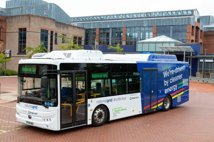 Stagecoach Midlands Yutong E10 electric bus