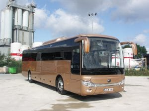 Transport Decarbonisation Plan bus and coach content