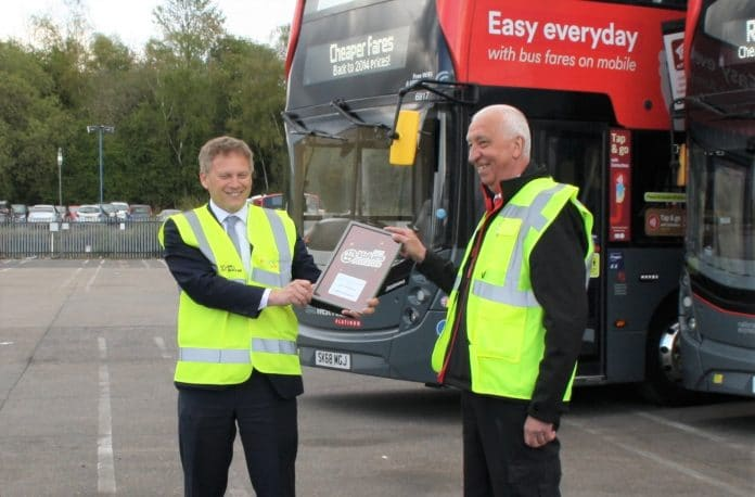 NXWM and Grant Shapps recognise employee's over 40 years of service