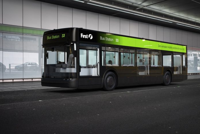 Fleet of Arrival buses with First York floated in ZEBRA EoI