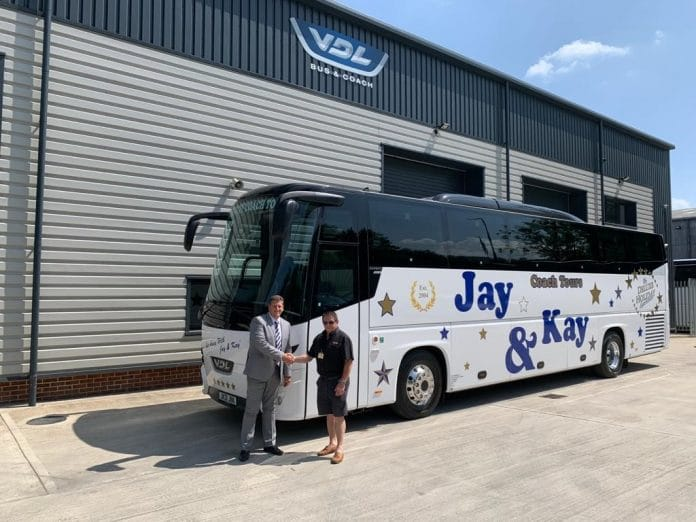 Jay and Kay Coach Tours VDL Futura FHD2