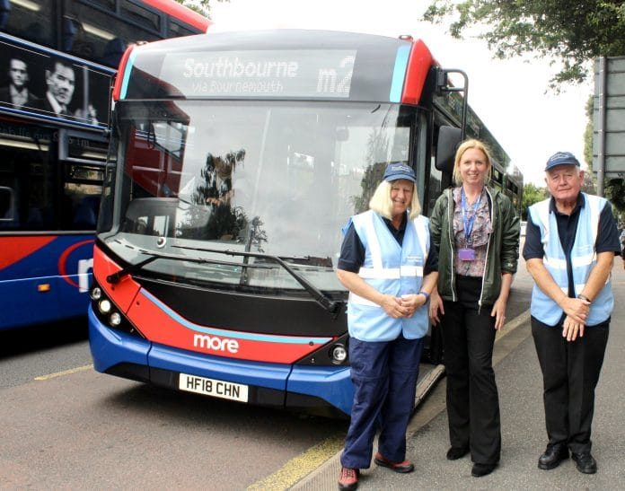 Morebus pictured with Bournemouth Pastors