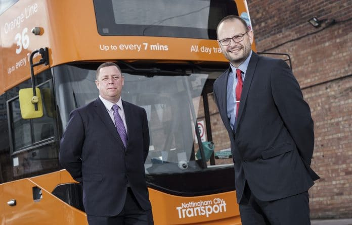 Changes to Nottingham City Transport management team announced