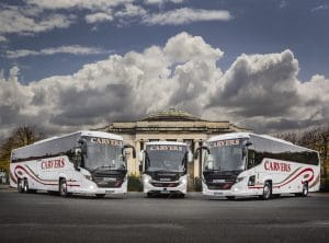 scania Financial Services customer Carvers Coaches