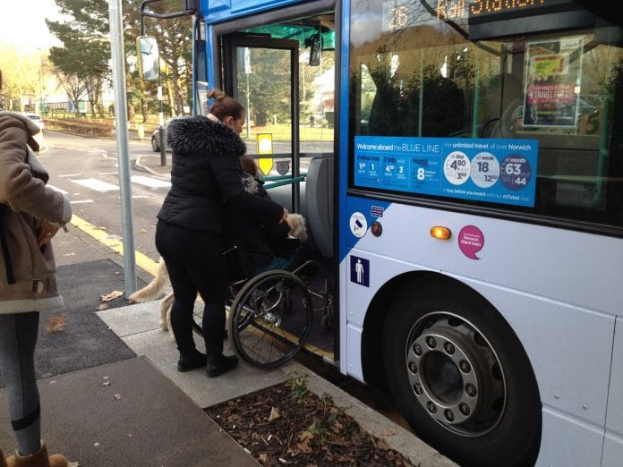 Bus Users and Disability Rights UK to hold accessibility webinar series
