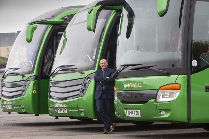 King Coaches to be launched by First Aberdeen