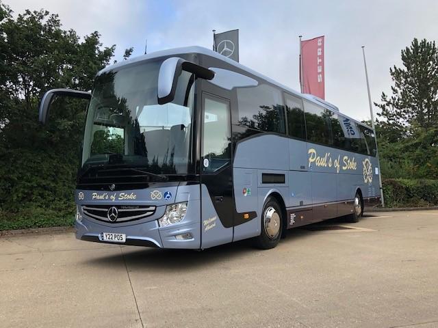 Pauls of Stoke Mercedes Benz Tourismo Access