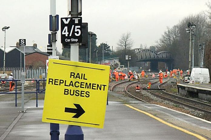 Driver shortages and rail replacement services